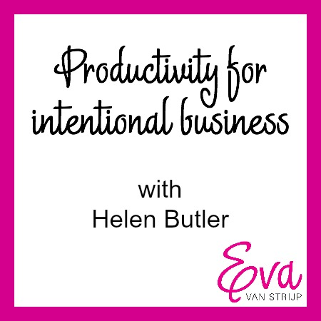 Productivity Tips with Helen Butler of Clutter Rescue