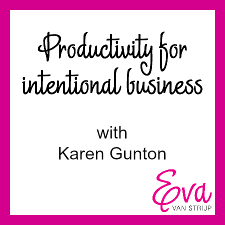 Productivity with Karen Gunton