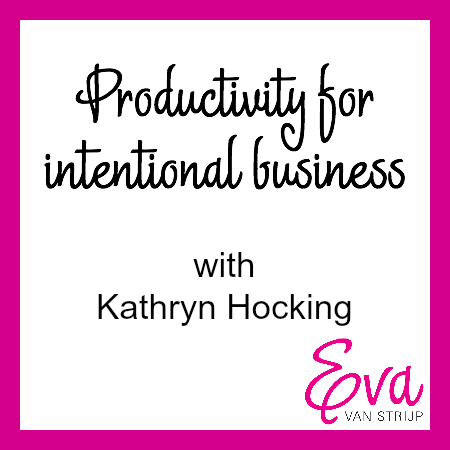 Productivity with Kathryn Hocking