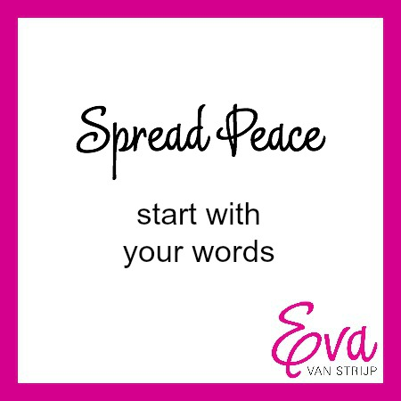 Spread parenting peace: start with your words