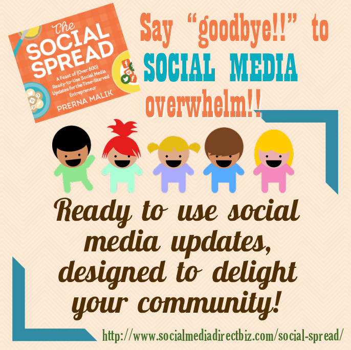 Say goodbye to social media overwhelm! Win a copy of The Social Spread!