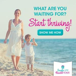 Start thriving!