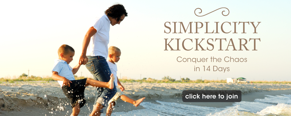 Ready to conquer the chaos? Get your Simplicity Kickstart happening today!