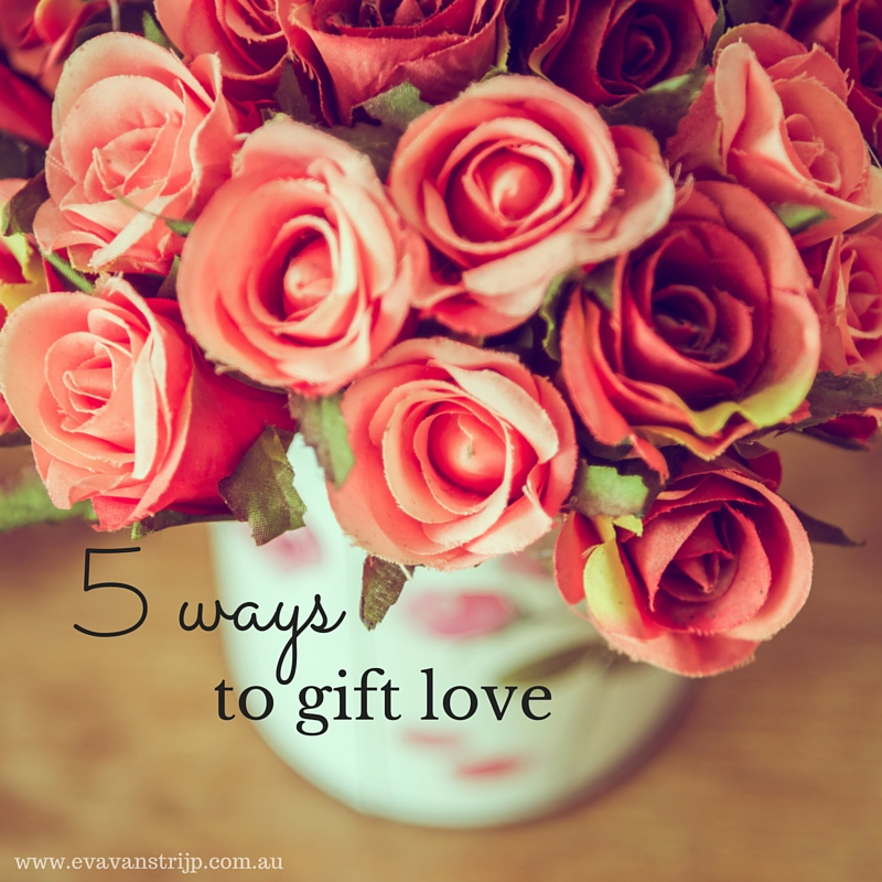 Here are 5 easy ways to help your kids start to think about gifting love as a very real present.