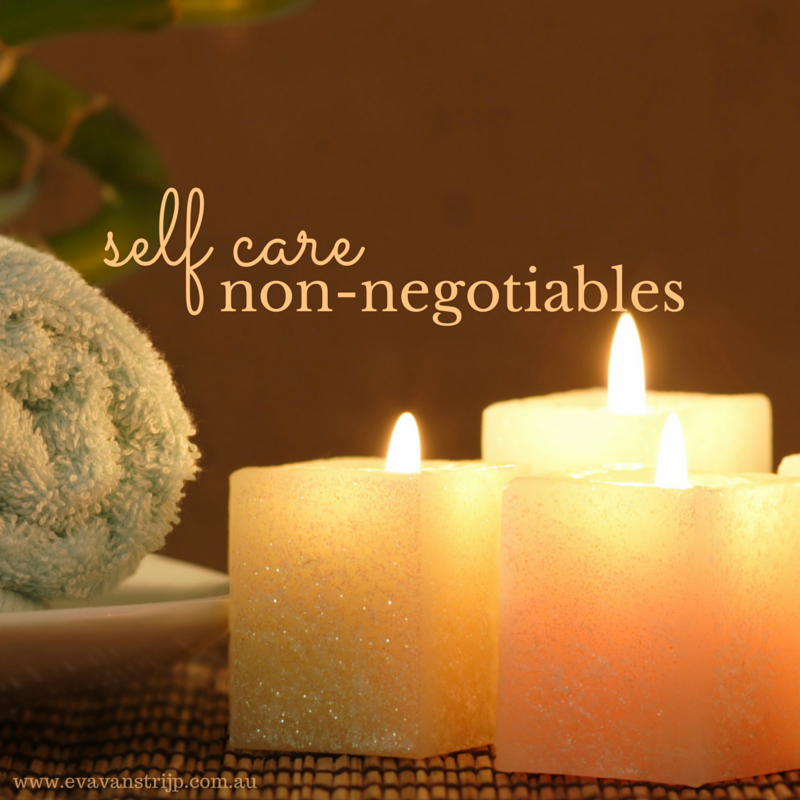 My Five Daily Non-Negotiables for Self Care as a Busy Mum