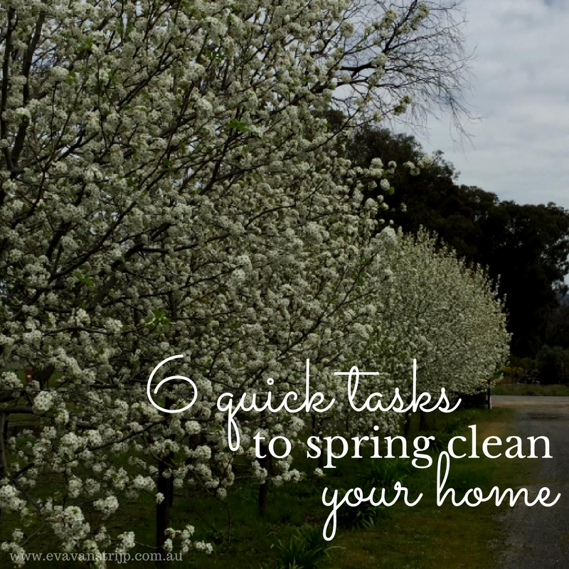 6 quick tasks to spring clean... that pack a punch for your home and headspace