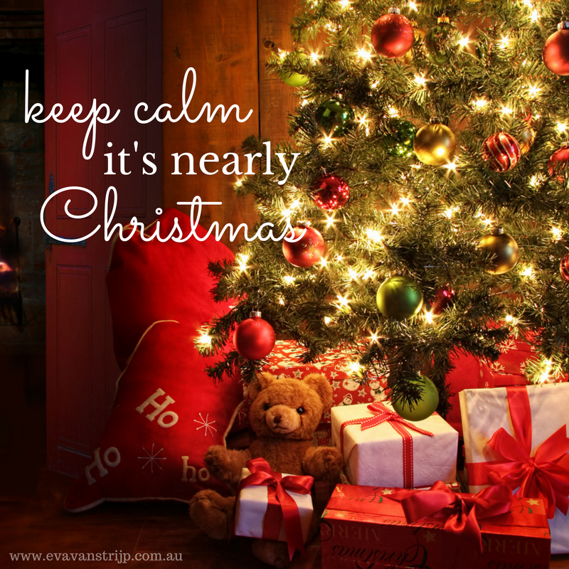 Keep calm this Christmas season - lessons from kids