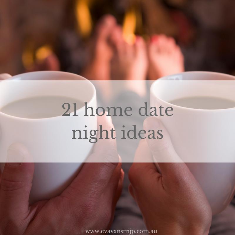 21 Home Date Night Ideas