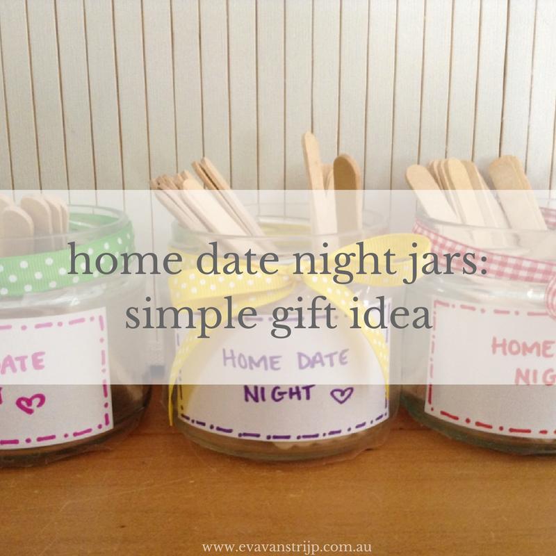 21 Home Date Night Ideas + home date night jar craft gift idea