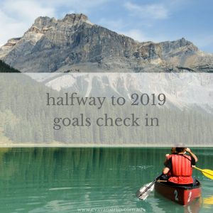 I highly recommend doing a quick check in with your goals every month, but even if you've been doing this, it's really important to do a thorough overview before you head into the second half of the year. Checking in will help you to understand what's worked well, what hasn't, what needs changing or removing or adding.