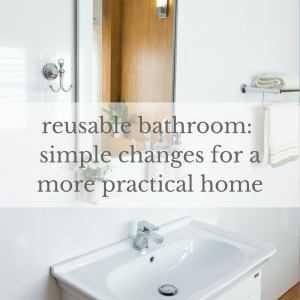 They're such tiny rooms, but they contain some of themost heavily packaged, non-biodegradable and single-use items inour homes. Here is a list of bathroom and laundry itemsyou can switch.