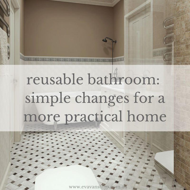 They're such tiny rooms, but they contain some of the most heavily packaged, non-biodegradable and single-use items in our homes. Here is a list of bathroom and laundry items you can switch.