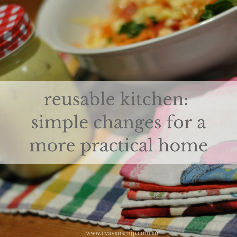 Reusable Kitchen Part 2: Simple Changes for a More Practical Home