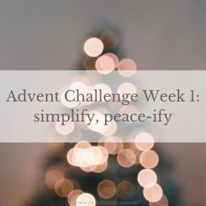 2018 Advent Challenge - Week 1 #2018adventchallenge