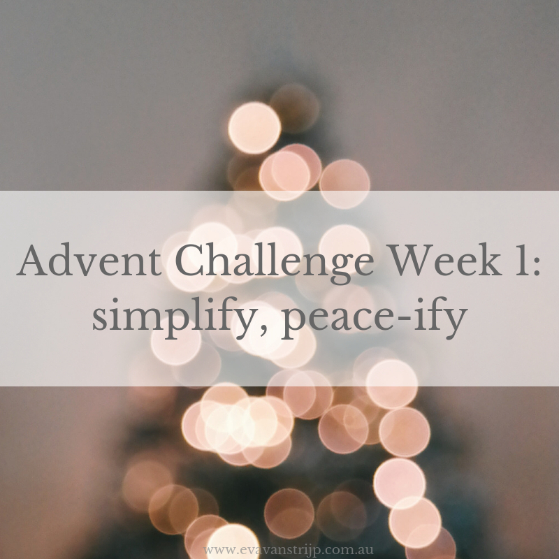 2018 Advent Challenge - Week 1 #2018adventchallenge