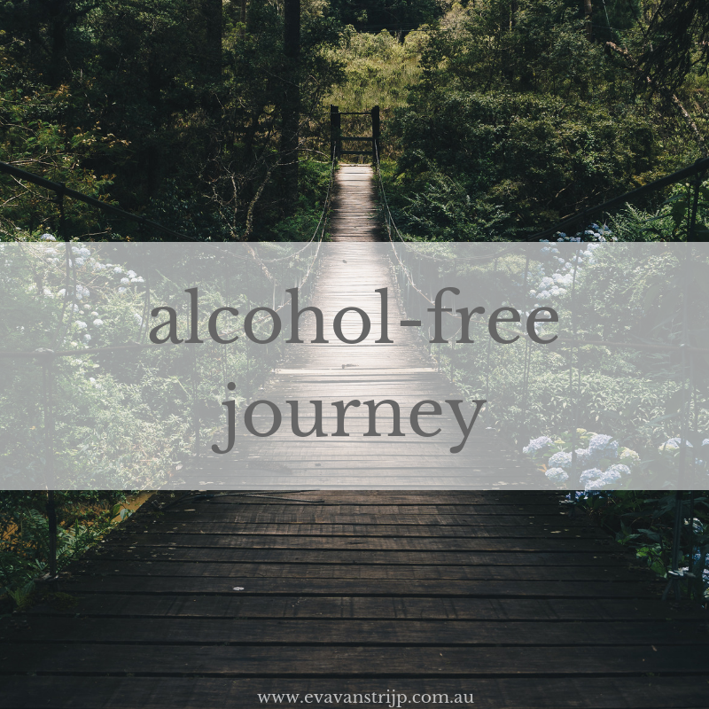 Road to sobriety: alcohol-free for a year.