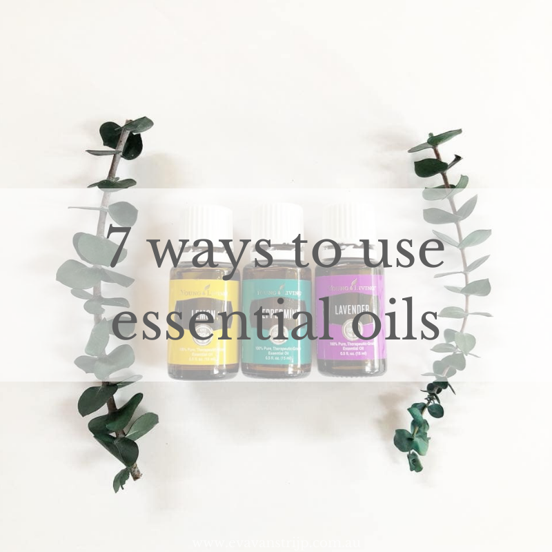 7 ways to use essential oils for your family and around the home.