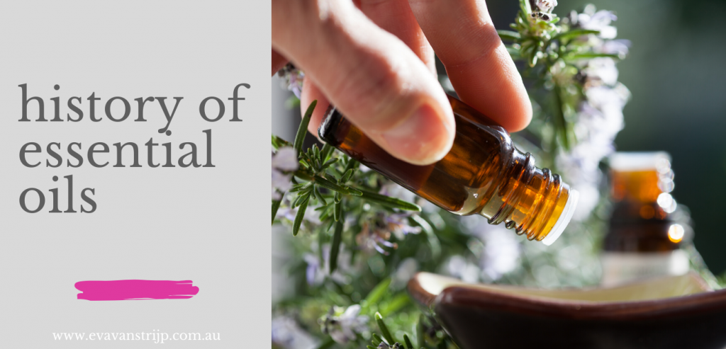 History of essential oils - timeline of their use