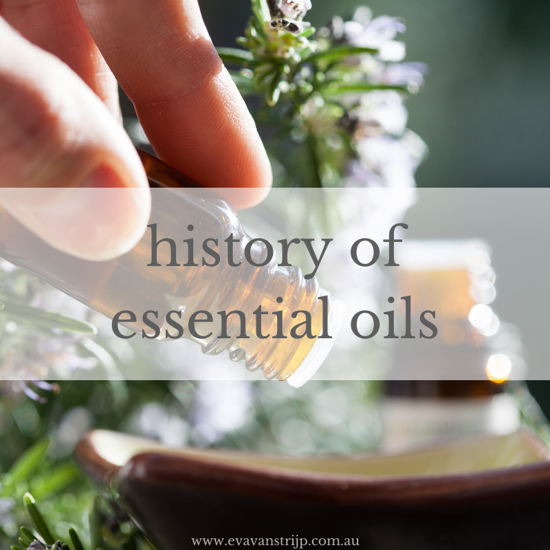 A brief history and timeline of essential oils