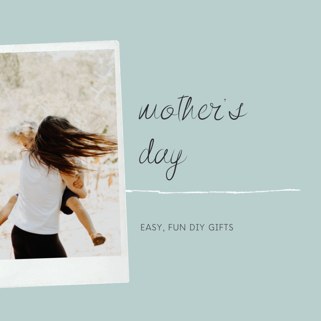 Easy, fun, beautiful Mother's Day DIY gift ideas with essential oils: wind down roller, bath soak and body spray
