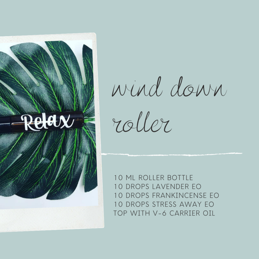 Easy, fun, beautiful Mother's Day DIY gift ideas with essential oils: wind down roller