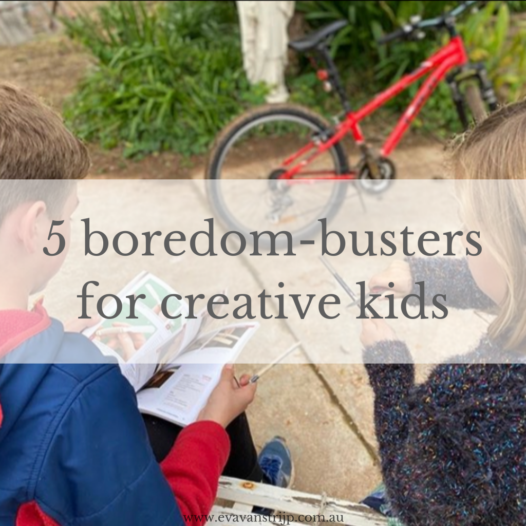 5 boredom-busters for creative kids and teens