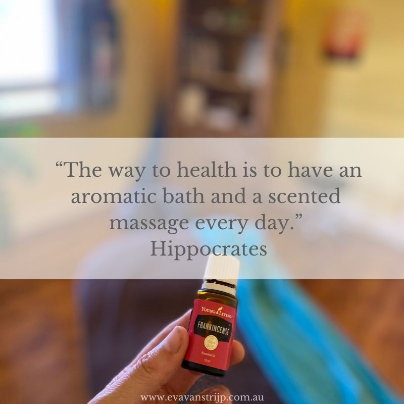 """""""The way to health is to have an aromatic bath and a scented massage every day."""" Hippocrates."""