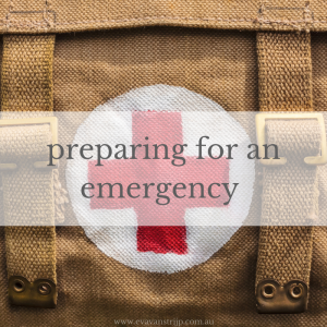 Mid-last year I updated our home and car first aid kits and want to share some ideas today for how you can ensure your family is prepared for emergencies.