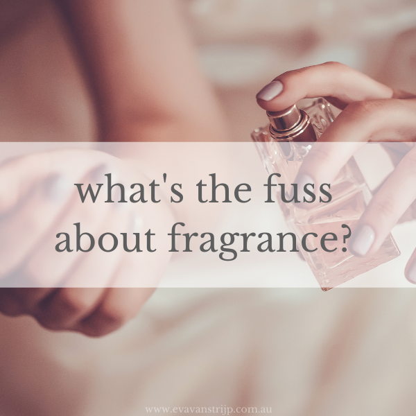 Fragrance is a cover term for any number of hundreds (thousands even, and with side-affects that include headaches, dizziness, shortness of breath, nausea and more) of products and the fact of the matter is, we usually don't know which ones.