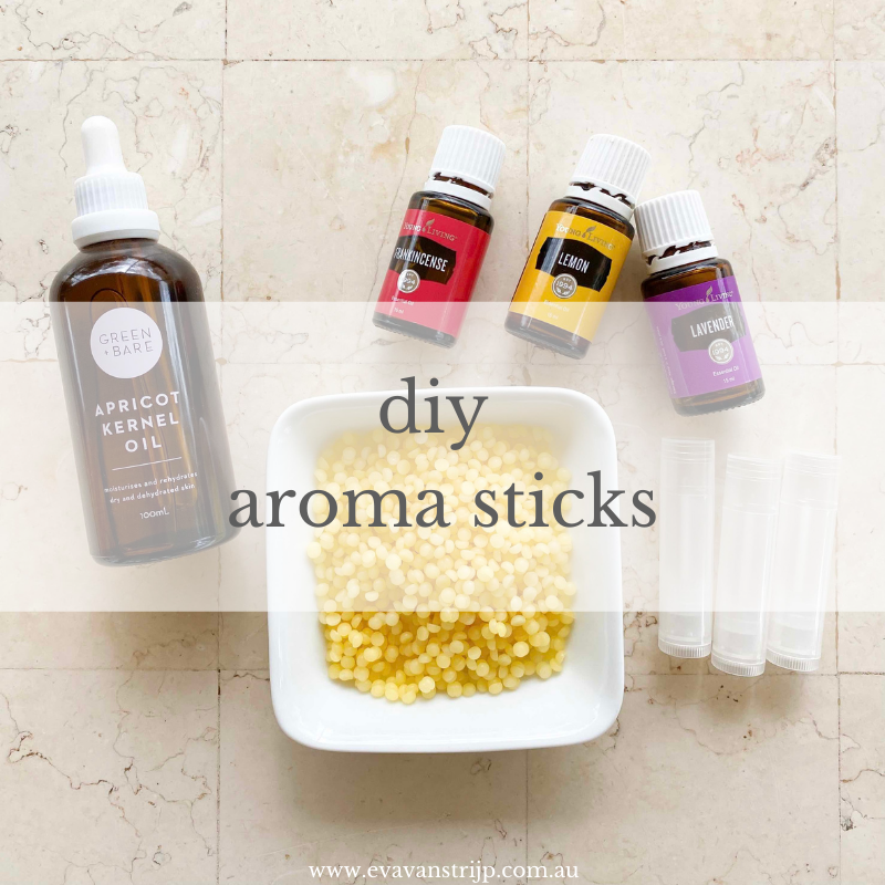 DIY aroma sticks are a unique alternative to essential oil rollers. Similar in use but with some key differences in texture and use, aroma sticks are best for applying to the face and temples as they don't leave an oily residue.