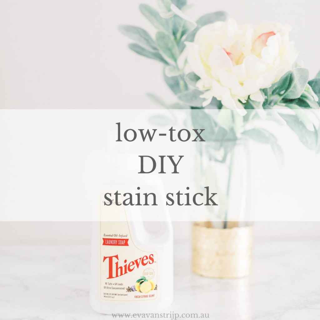 DIY low-tox stain stick recipe with just 3 ingredients